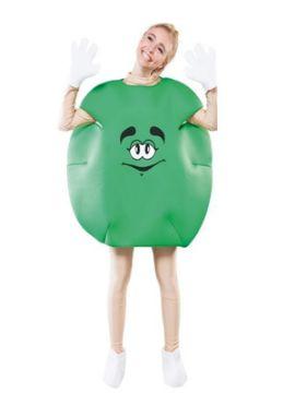 disfraz lacasito emanems verde unisex