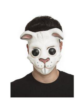 careta de conejo risueño