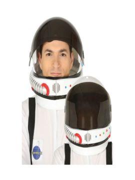 casco de astronauta con visera