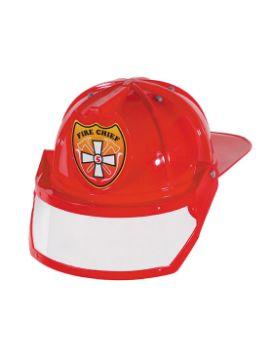 casco de bombero articulado con mirilla transparente