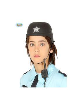 casco de policia infantil
