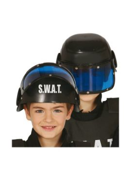 casco de policia swat infantil