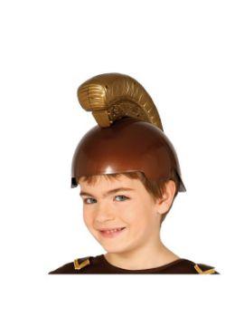 casco de romano infantil