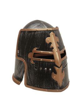 casco o yelmo de caballero medieval