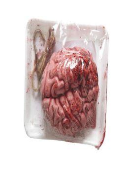 cerebro sangriento al vacio para halloween