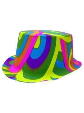 chistera multicolor pvc colores llamativos