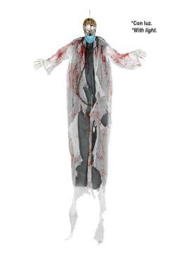 colgante de doctor esqueleto con luz halloween