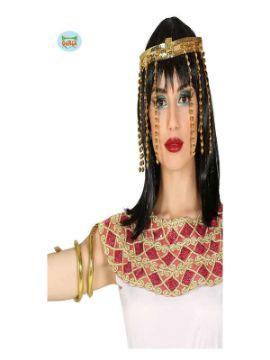 conjunto cleopatra diadema y pulsera