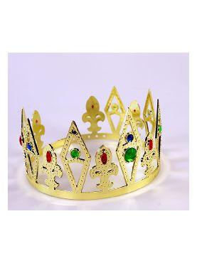 corona de rey oro
