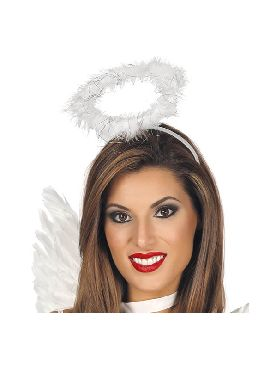 diadema corona o halo marabu de angel