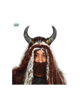 diadema de cuernos de vikingo foam