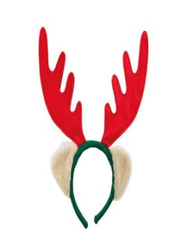 diadema de reno para navidad