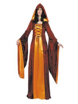 disfraz de medieval dama de la corte mujer