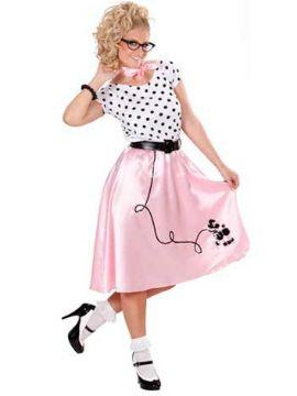 disfraz años 50 para mujer adultos