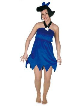 disfraz betty marmol azul para mujer