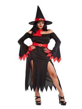 disfraz bruja negra sexy para mujer