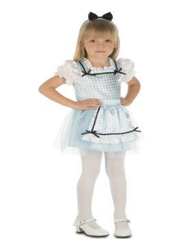 disfraz de alicia con lazo para niña