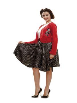disfraz de años 50 high school mujer