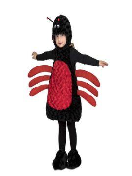 disfraz de araña peluche para niña