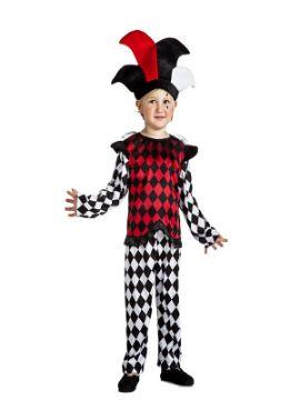 disfraz de arlequin para niño