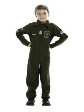 disfraz de aviador para niño