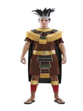disfraz de azteca para hombre
