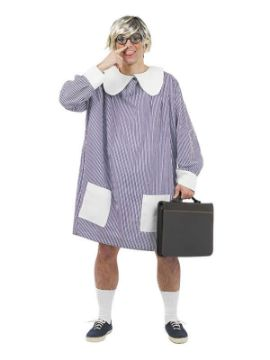 disfraz de baby colegial hombre