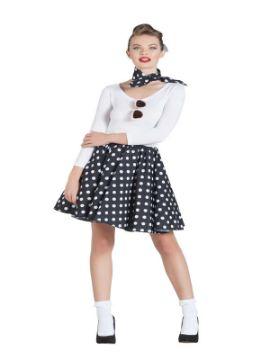 disfraz de bailarina pin up negra mujer