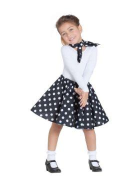 disfraz de bailarina pin up negra niña
