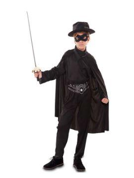 disfraz de bandido el zorro niño