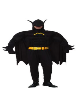 disfraz de batman musculoso hombre