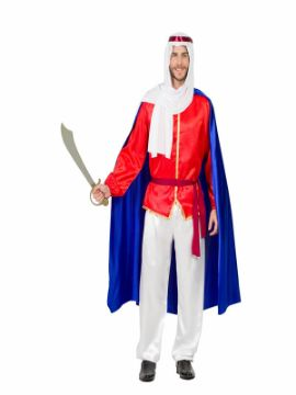 disfraz de beduino con capa hombre