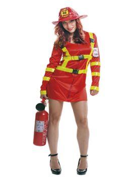 disfraz de bombera sexy para mujer