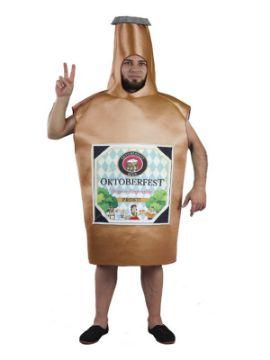 disfraz de botella cerveza oktoberfest adulto