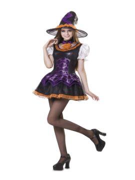 disfraz de bruja chic para mujer