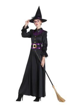 disfraz de bruja clasica mujer