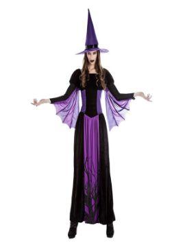 disfraz de bruja del bosque mujer