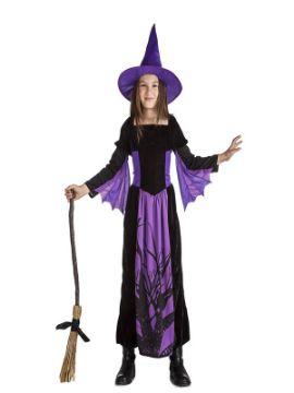disfraz de bruja del bosque niña