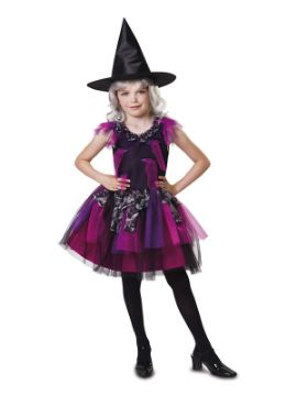 disfraz de brujita fashion para niña