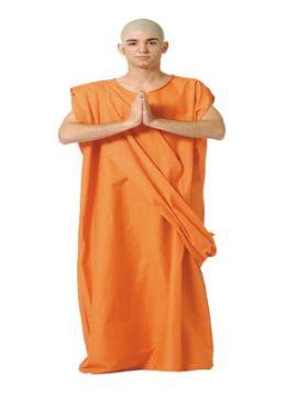 disfraz de buda del tibet hombre