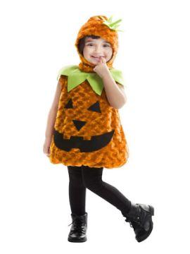 disfraz de calabaza peluche para niña