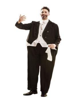 disfraz de cantante de opera obeso para hombre