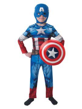 disfraz de capitan america los vengadores niño