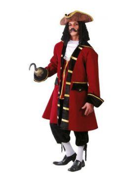 disfraz de capitán garfio hombre