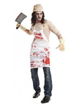 disfraz de carnicero asesino hombre