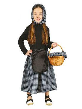 disfraz de castañera para niñas