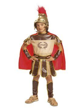 disfraz de centurion romano para niño