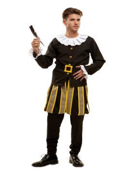 disfraz de cervantes para hombre