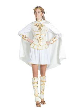 disfraz de emperadora romana para blanca mujer