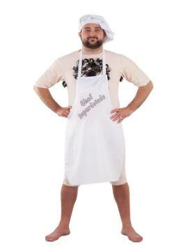 disfraz de chef superdotado para hombre